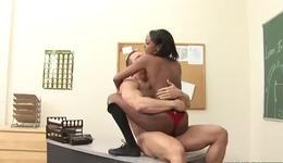 Vicious black slut gets her fingered by cruel white fellow